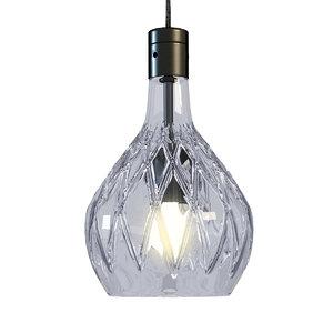 3d model sfera hanging lamp baccarat