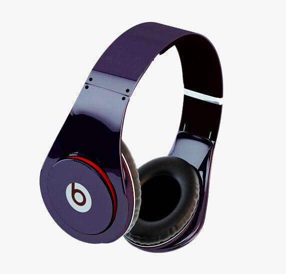 3ds max headphones studio beats