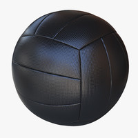 ball volley volleyball 3d model