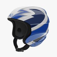 Giro Sestriere Helmet Blue Strips