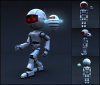 Robot Full Body Rigged