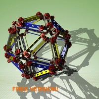 free max model assembly icosahedron himself!