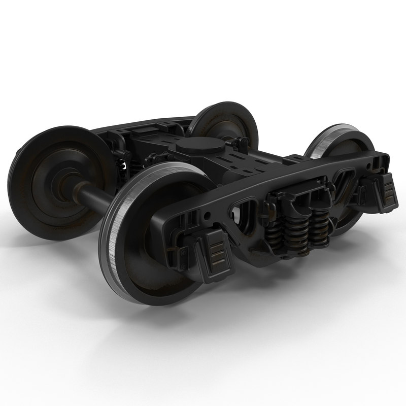 3ds max train wheels