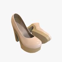 3ds max highheels heel
