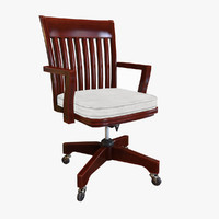 potterybarn chair obj
