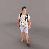 man walking max