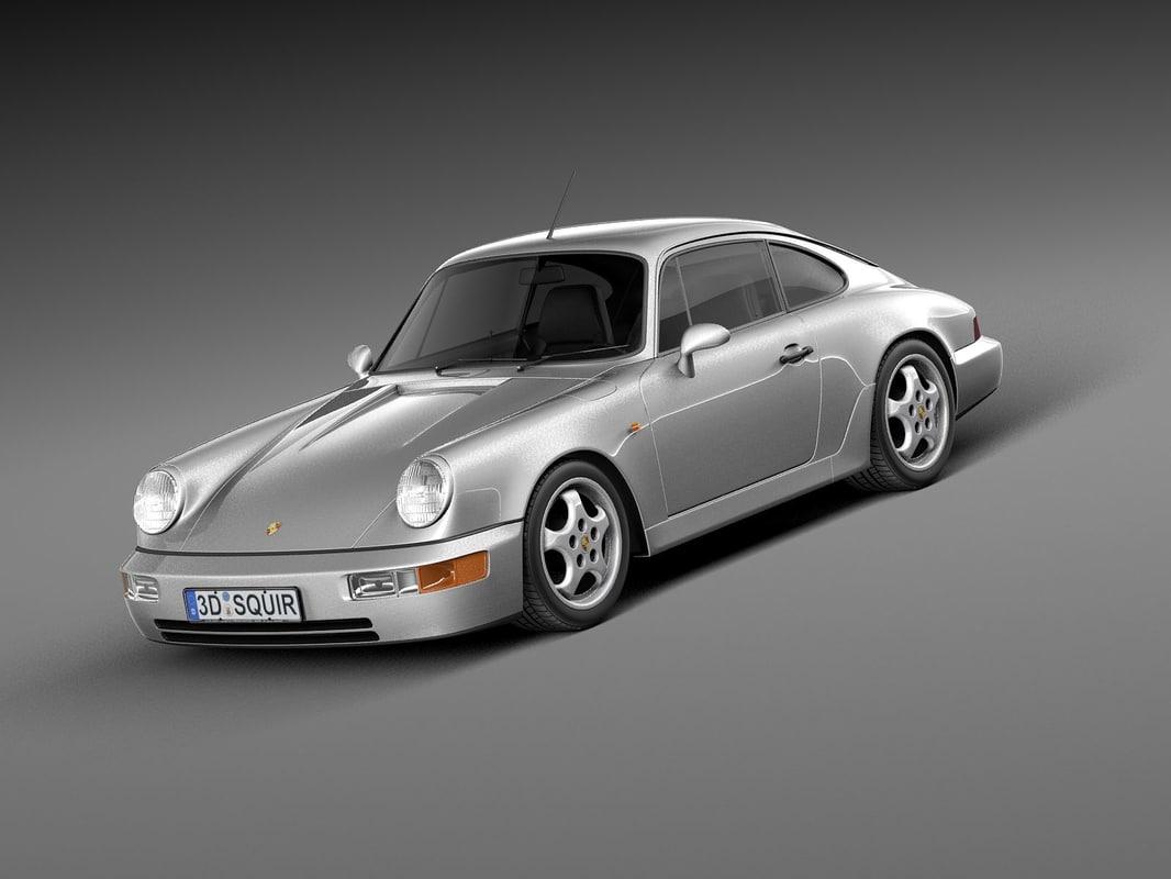 100 Porsche 964 Targa 1990 Porsche 964 Carrera 2