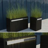 modern grass ii 3d max