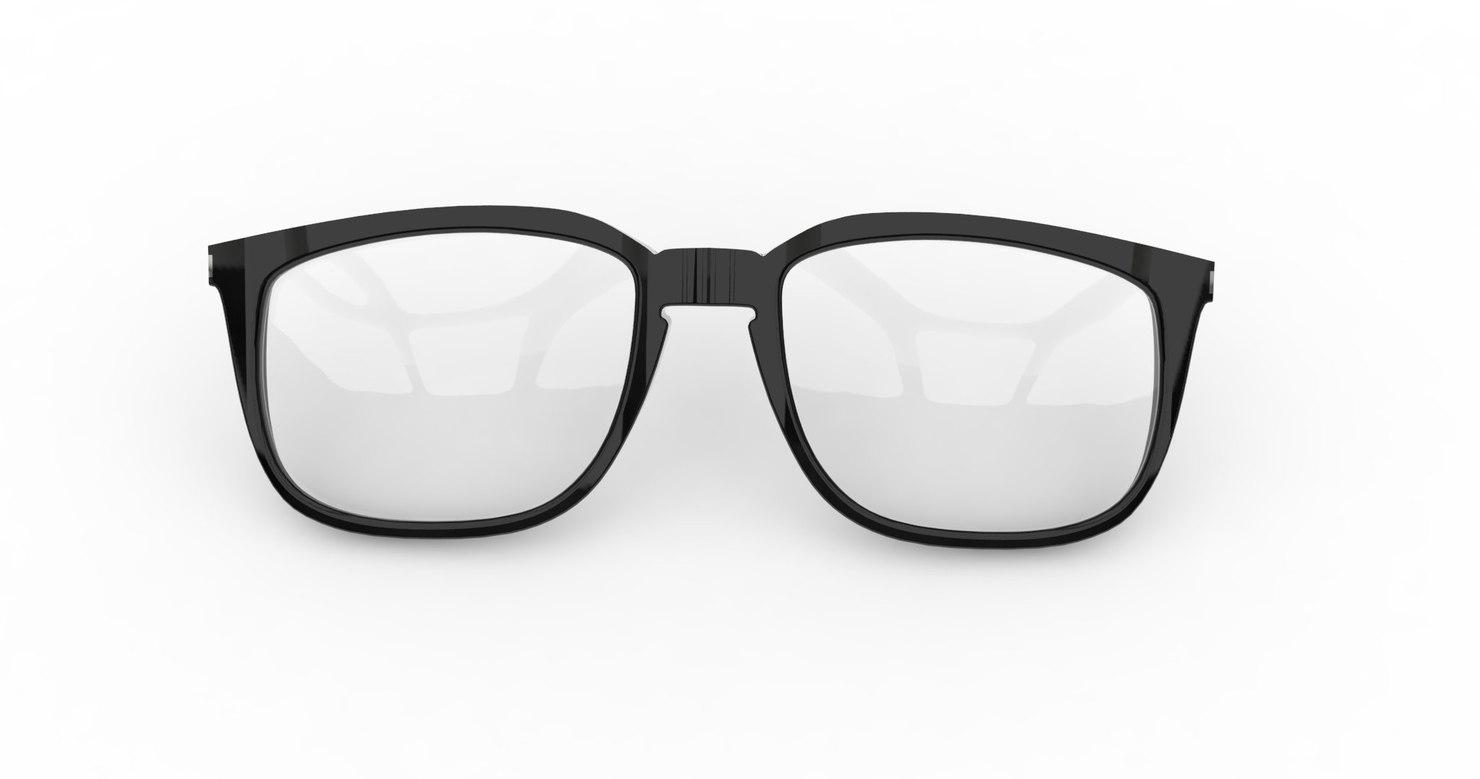 eye glass eyeglass 3d model