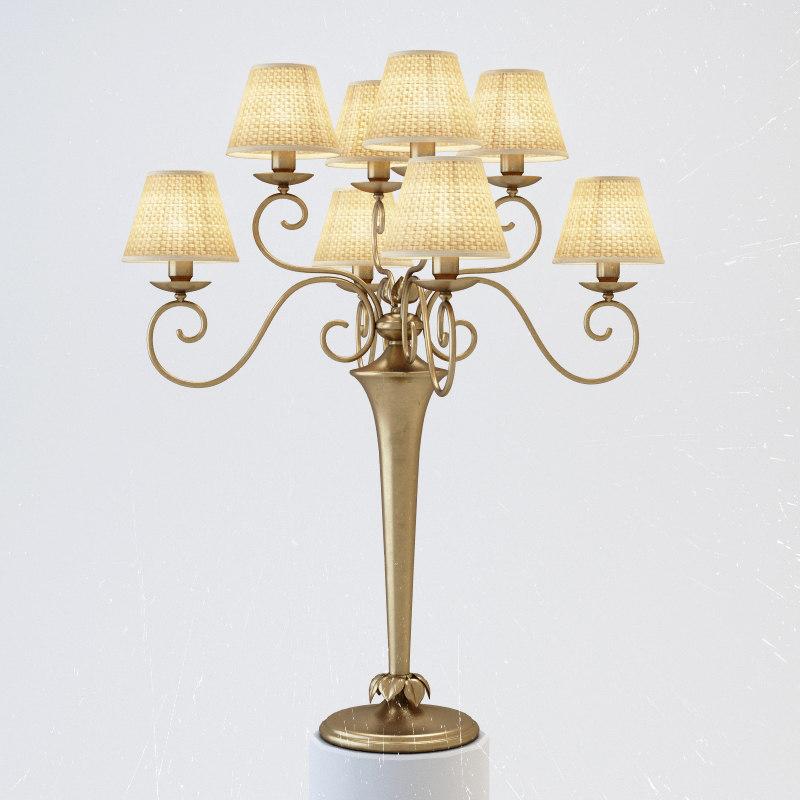 baga table lamp 3d max