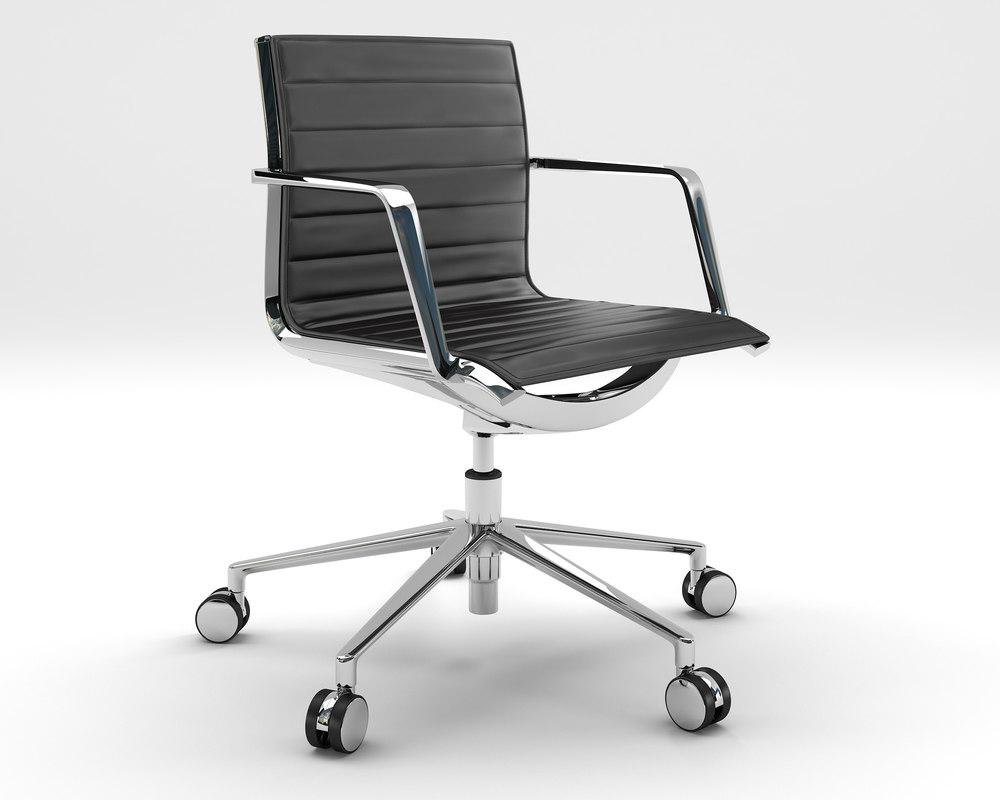 max aluminia office chair operative