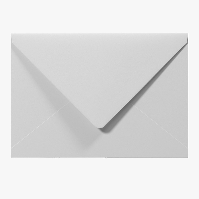 3d white envelope 2