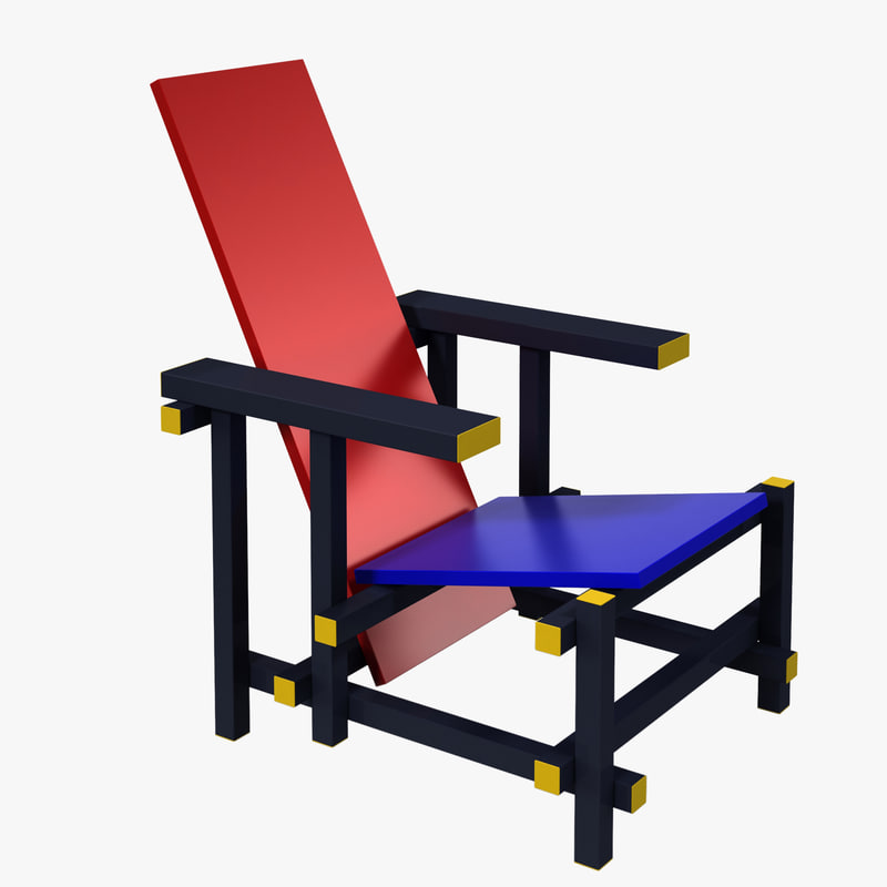 red blue chair max free