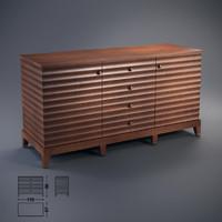 opera contemporary elettra 3d max