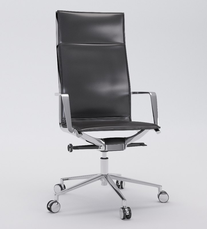3d aluminia office chair presidential