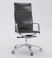 3d aluminia office chair presidential