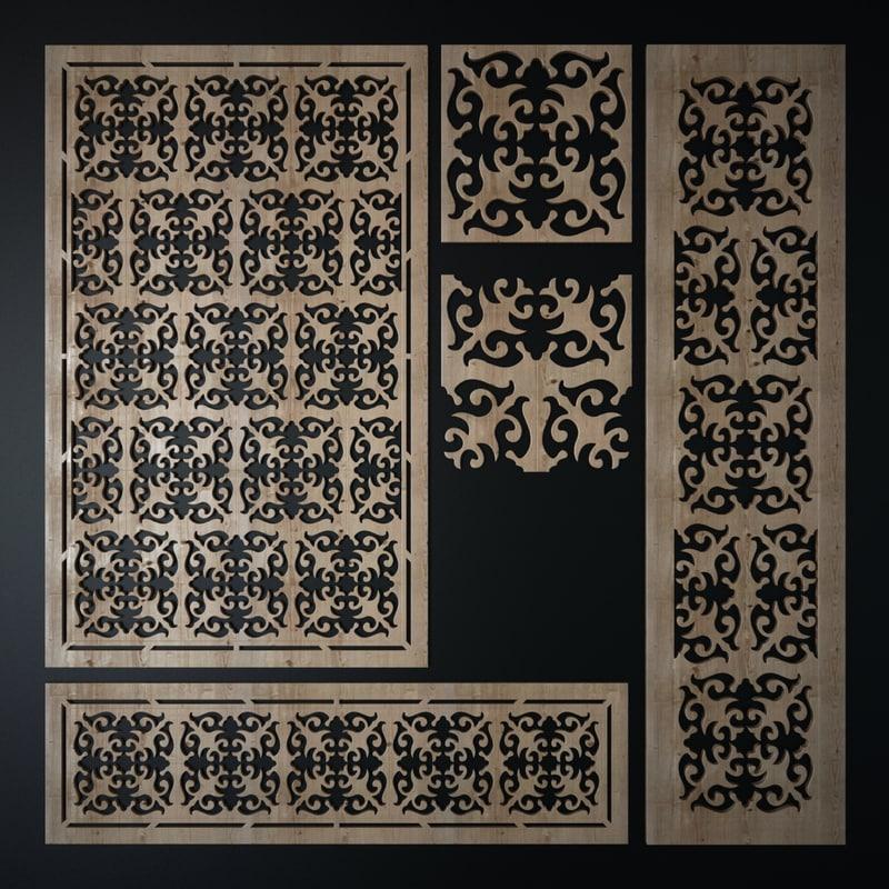 decorative laser cutting pattern max