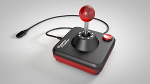 retro controller 3d model