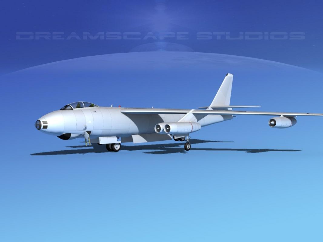3d stratojet boeing b-47 bomber