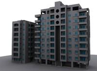 Two Aparment Buildings