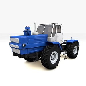 3d model of tractor t-150
