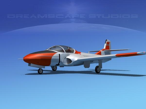 3d t-37 cessna tweet model
