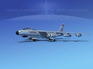 obj stratojet boeing b-47 rb-47e