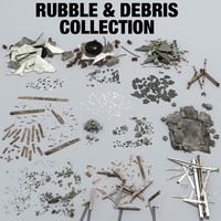 3d rubble debris
