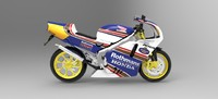 honda nsr 250 mc28 3ds
