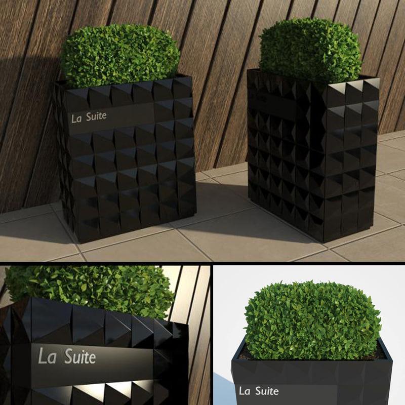 hotel bush iii 3d model