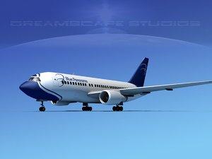 boeing 767 767-100 3ds