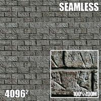 4096 Seamless Texture Brick I