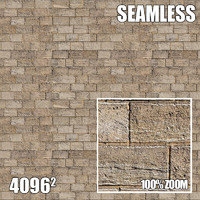 4096 Seamless Texture Brick III
