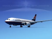 3ds boeing 767 767-100