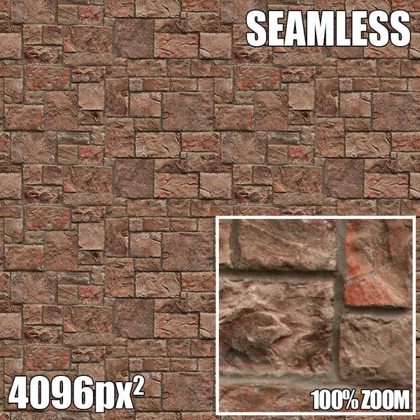 4096 Seamless Texture Brick V