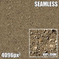 4096 Seamless Texture Gravel I