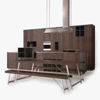 modern wood kitchen max
