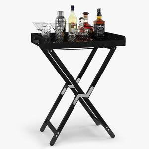 ralph lauren gavin tray 3d model