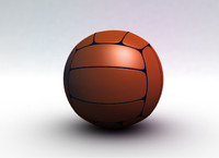 free sports ball 3d model
