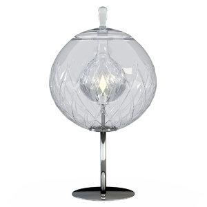table lamp baccarat sfera 3d model