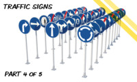 3ds max czech traffic road signs