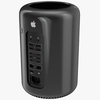 3d model apple mac pro