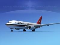 boeing 767 767-100 3d 3ds