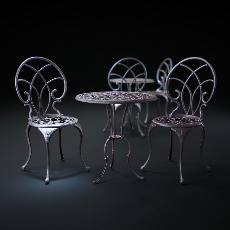 christopher-knight-home-charleston-aluminum-copper-bistro-set 3d max