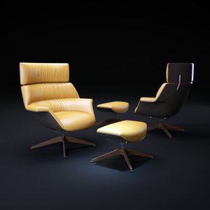 3d coach-armchair model