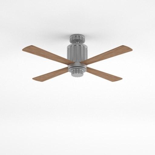 earhart ceiling fan 3d max