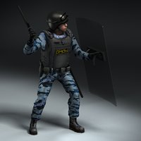 OMON Riot Police Rigged