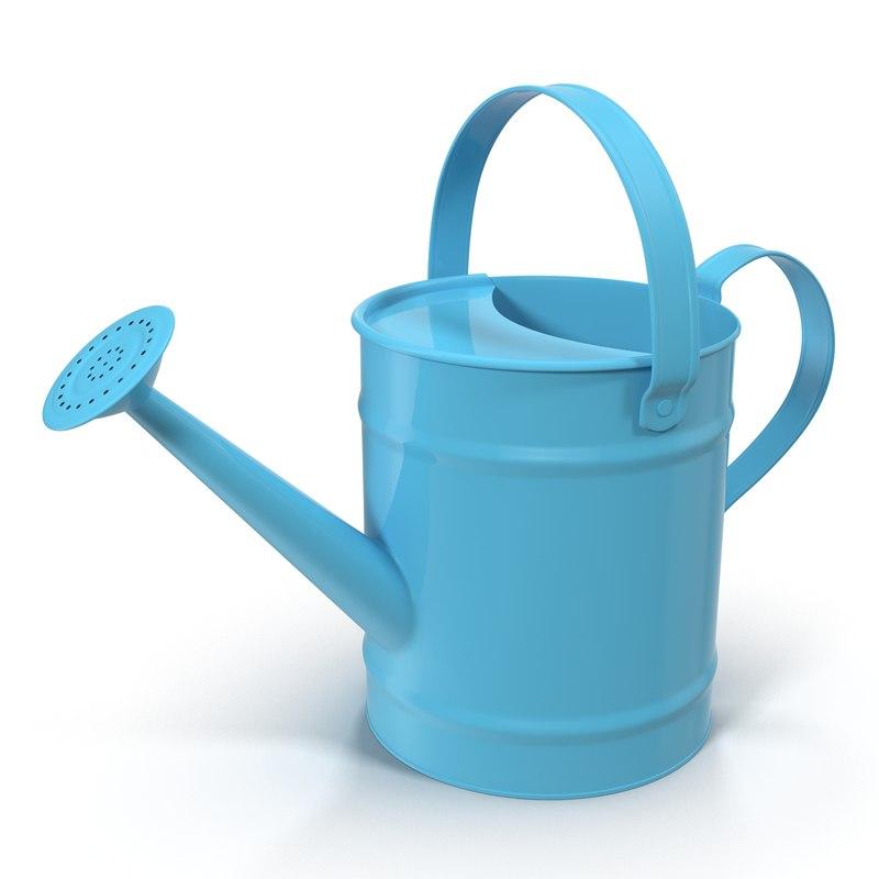 watering generic 3d model
