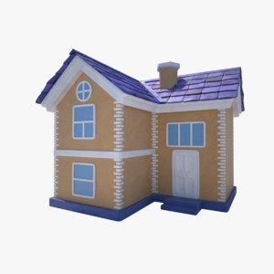 3ds max cartoon house