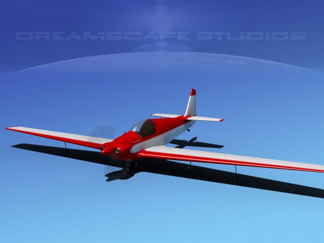 propeller fournier rf-4 3d model